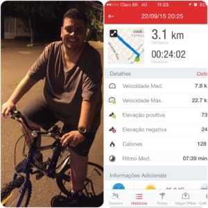 Diário de Bordo – Primeiro dia de bike!